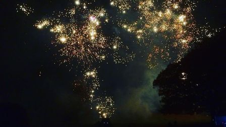 The firework spectacular at Christchurch Park in a previous year. Picture: ARCHANT