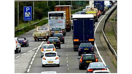 A14 Traffic Jam (stock image) Picture: ARCHANT