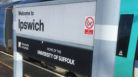 Services were disrupted between Ipswich and Felixstowe. File picture: PAUL GEATER