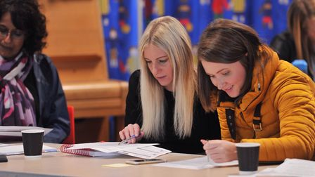 Teachers from the Ipswich area gathered for a conference at Rushmere Hall Primary School to debate,