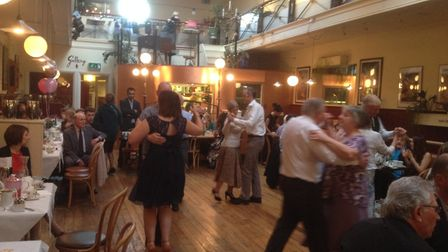 A previous tea dance at Arlingtons for the Tea Leaf Vision charity, working in Sri Lanka