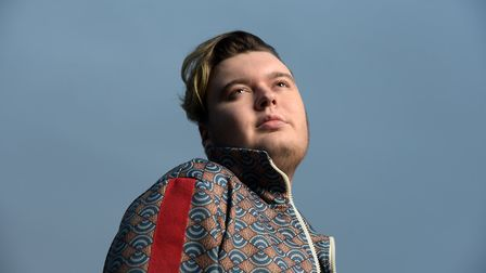 Rising pop star Macauley Elvin. Picture: SARAH LUCY BROWN