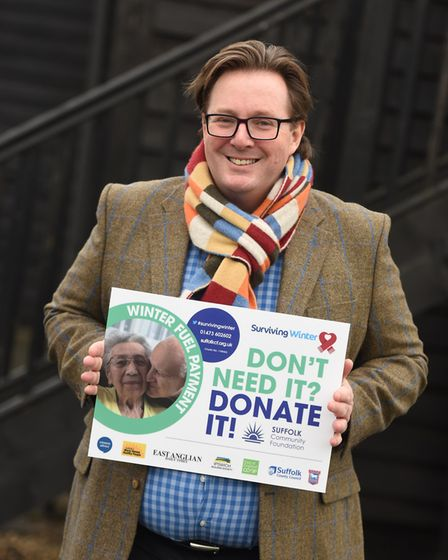 Launch of this year's Surviving Winter campaign. Pictured is Tim Holder. Picture: GREGG BROWN