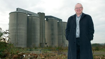 David Ellesmere at the sugar beet site in Sproughton. File picture: IPSWICH BOROUGH COUNCIL