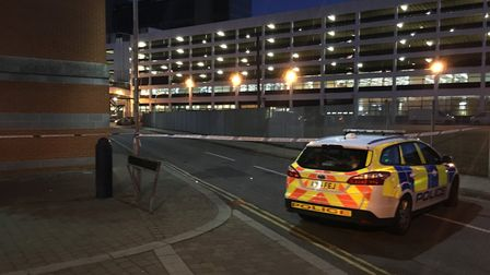 Police have to tackle around 12 violent crimes a day in Ipswich. Picture: ADAM HOWLETT