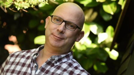 Mark Pritchard, who has been diagnosed with cancer and is waiting on his prognosis after treatment,