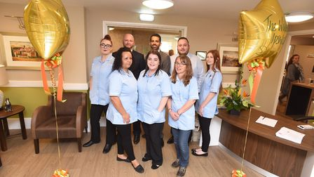 The opening of The Willows care home in Ipswich. Picture: GREGG BROWN