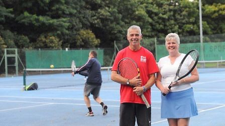 The Ipswich-based tennis club is the first in the world to use 'waste plastic', which helps to preve