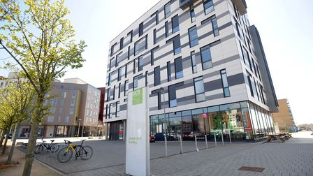 The James Hehir building at the University of Suffolk, home of the Eastern Enterprise Hub.