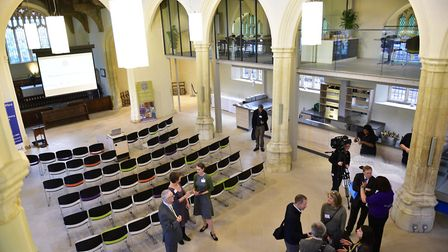 Quay Place Wellbeing and Heritage Centre in Ipswich is now open to the public. Picture: SARAH LUCY B