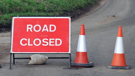 The road was partially closed following an accident (stock image). Picture: ARCHANT LIBRARY
