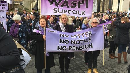 WASPI campaigners have been building their support recently. Picture: KAREN SHELDON