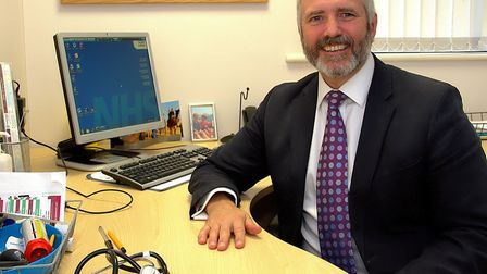 Dr Mark Shenton, chairman of the Ipswich and East Suffolk CCG. Picture: SIMON PARKER