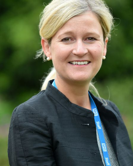 Amanda Lyes. Picture: NHS IPSWICH AND EAST SUFFOLK CLINICAL COMMISSIONING GROUP