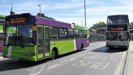 Ipswich Buses services will change in February. Picture: SARAH LUCY BROWN