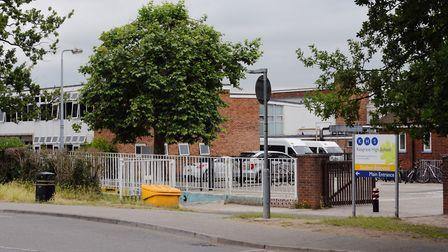 Kesgrave High School will be closed tomorrow. Picture: ARCHANT