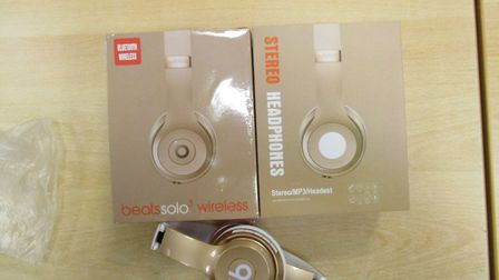 Border Force officers at the Port of Felixstowe made a detection of 800 counterfeit Beats Solo 3 hea
