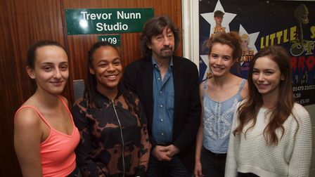 Former Northgate High School student Sir Trevor Nunn spoke with A-level drama students about his car