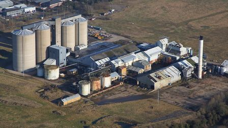 The former Sugar Beet factory at Sproughton in 2009 PICTURE MIKE PAGE