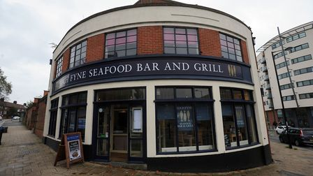 The building in its days as a Loch Fyne Seafood Bar and Grill.