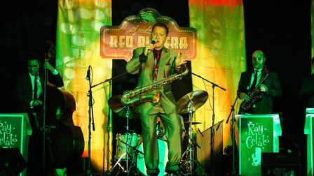 Ray Gelato and the Giants performing at a previous Mister Jack event. Photo: Sara Thomas