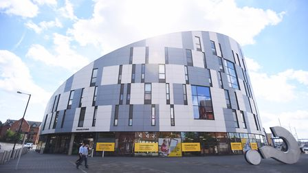 The University of Suffolk was highlighted as an emerging part of Ipswich which could support its cit