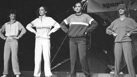 The Corn Exchange was the venue for an sports fashion show in November in 1982