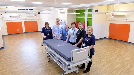 The refurbished Brantham Ward at Ipswich Hospital. Picture: PAGEPIX