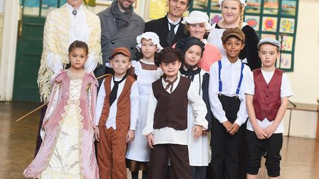 Victorian day at Ranelagh County Primary School. Pictured: GREGG BROWN