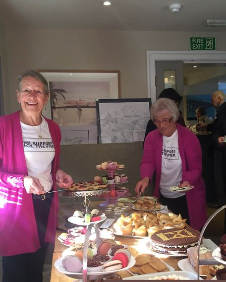 The Shotley Pier Group coffee morning at the Red Lion in Chelmondiston raised another £2,000 for the