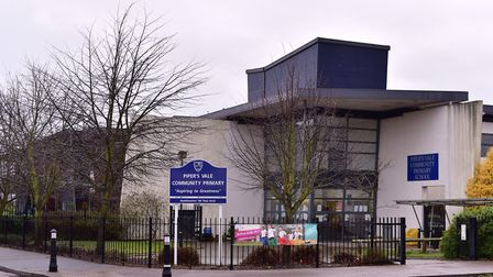 Pipers Vale Primary Academy in Ipswich. Picture: ARCHANT