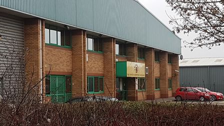 The former Billington's Factory on Europa Way in Ipswich. Picture: ARCHANT