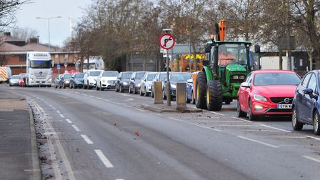 The closure of the Orwell Bridge is likely to bring more traffic into Ipswich town centre. Picture: