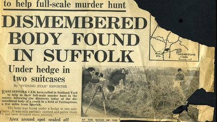 A clipping from the Evening Star after Bernard Oliver's body was found. Picture: ARCHANT