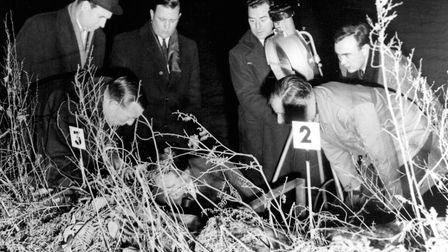 The dismembered body of Bernard Oliver was dumped in a field a few hundred yards from the main Ipswi