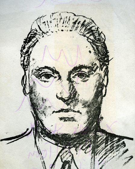 An artist's impression of a man police were seeking for interview. Picture: ARCHANT ARCHIVE