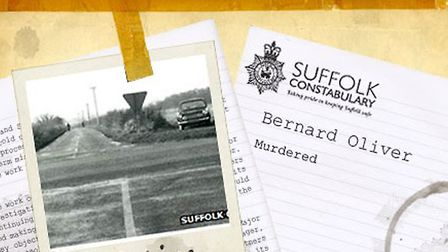 Bernard Oliver's murder file is still with the cold case team at Norfolk and Suffolk police. Picture