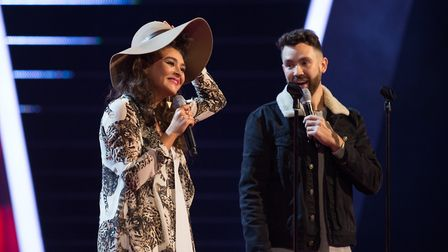 Tania and Ryan show off their talents in front of millions of TV viewers. Picture: RACHEL JOSEPH/ITV