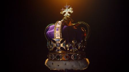 St Edward's Crown. Picture: ATLANTIC PRODUCTIONS/PA WIRE