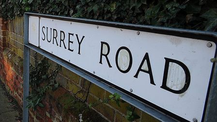 Surrey Road already has an alley gate installed. Picture: PHIL MORLEY