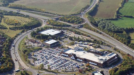 Could the Copdock Mill Interchange be rebuilt? Picture: MIKE PAGE
