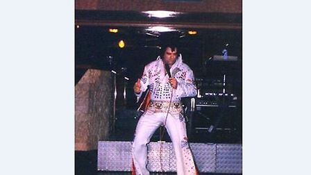Elvis impersonator Thomas Storey from Ipswich has died at the age of 57. Picture: CONTRIBUTED