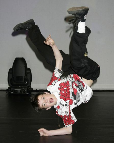 George Sampson, winner of the second series of Britain's Got Talent. Photo: Yui Mok / PA
