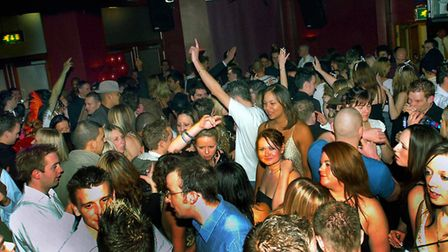 A packed dancefloor at the former Pals nightclub. Picture: JOHN KERR