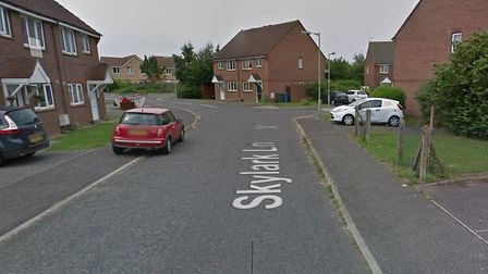 Police are at an incident in Skylark Lane, Ipswich. Picture: GOOGLE MAPS