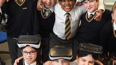 Youngsters at St Pancras Catholic Primary School have been putting together a virtual reality guided