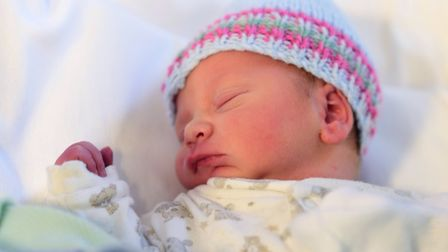 Baby Finley James Finch. Picture: SARAH LUCY BROWN