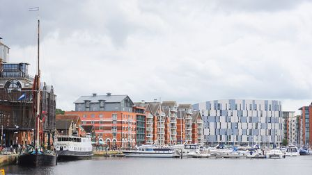 Ipswich Waterfront. Picture: GREGG BROWN