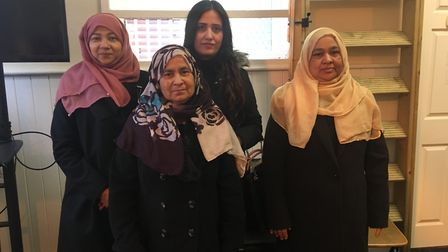 Some members of Suffolk Refugee Support's international women's group. Picture: GEMMA MITCHELL