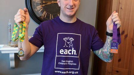 Aircraft technician Ryan Green from RAF Marham. Picture: EAST ANGLIA'S CHILDREN'S HOSPICES